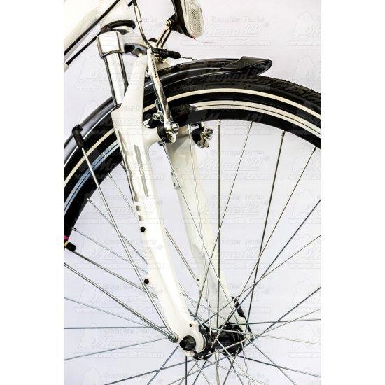 """LYNX Kerékpár 28""""  21 seb. 17"""" váz fehér-pink LADY BALTIC- Trekking ( súly: 16,3kg)"""