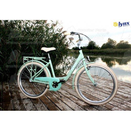 """LYNX Kerékpár 26""""  3 seb. 17"""" váz pistacia LADY CARIBBEAN- CITY  ( súly: 14,7  kg)"""