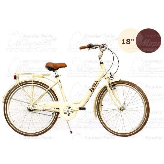 """LYNX Kerékpár 28""""  3 seb. 18"""" váz beige LADY CARIBBEAN- CITY ( súly: 15,4  kg)"""